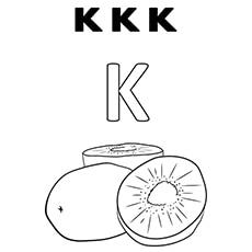 the k for kite the k for kiwi