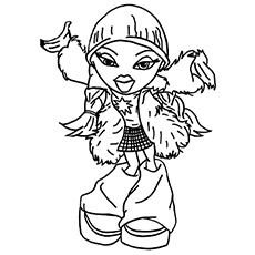 Top 20 Free Printable Bratz Coloring Pages Online