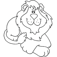 The Lambert Lion Coloring Pages