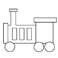 Little Train Engine Coloring Pages