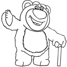Free Printable Coloring Pages Lots O Huggin Bear