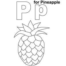 The-P-For-Pineapple