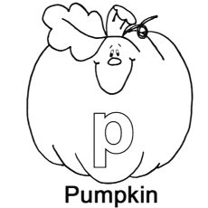 The P For Pumpkin