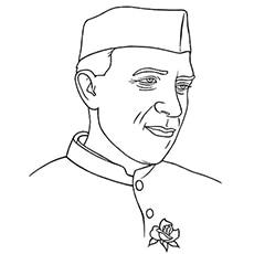 Jawaharlal Nehru In Colour