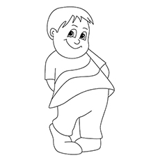 Emotion Pleased Coloring Pages