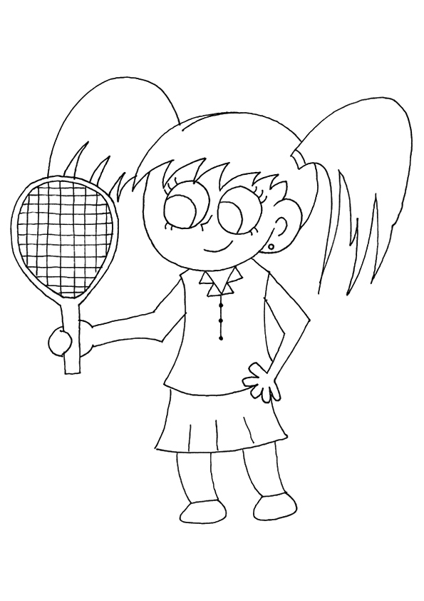 The-Pretty-Girl-Playing-Tennis