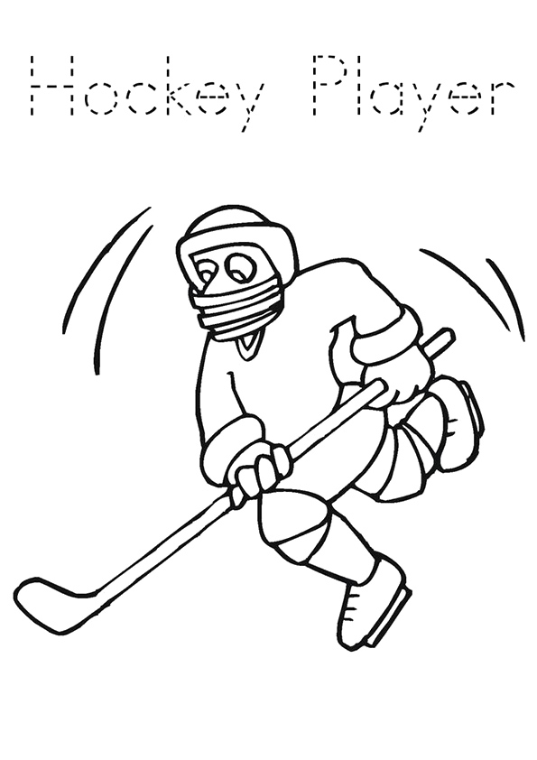 The-Simple-Hockey-Player