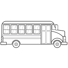 bus coloring pages Top 10 Free Printable School Bus Coloring Pages Online bus coloring pages