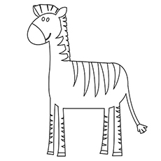 the simple zebra