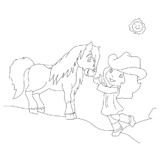 The-Strawberry-Shortcake-With-Honey-Pie-Pony coloring pages