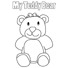 The-T-For-Teddy-16 for cloring pages