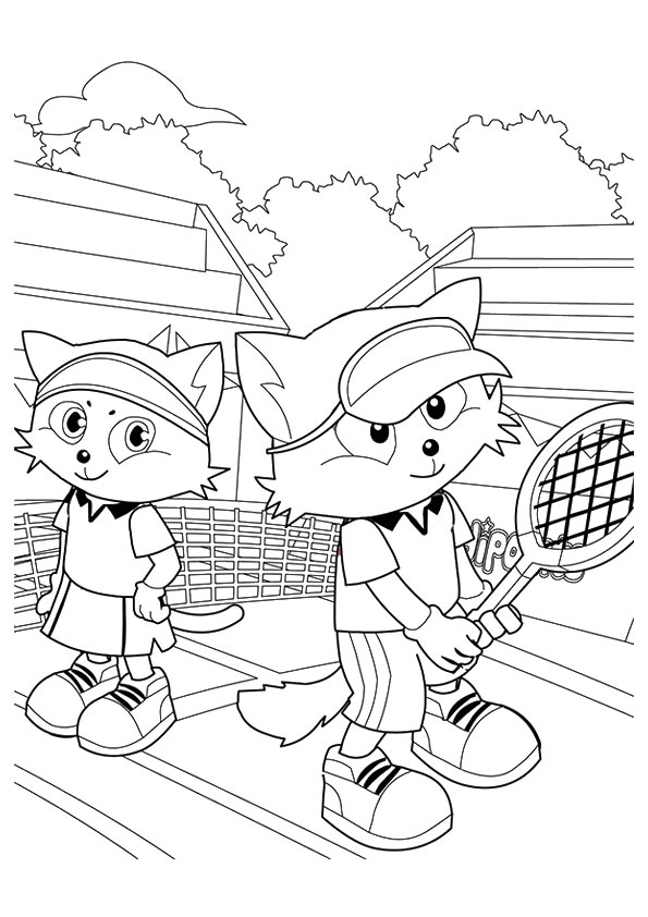 The-Tennis-Tournament-Between-Cats