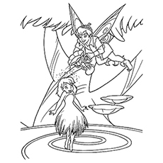 TinkerBell Word Search And Coloring Pages   230x230