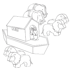The Toy Ark coloring pages