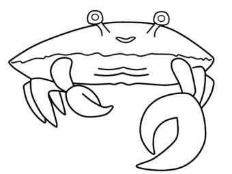 10 Amazing Crab Coloring Pages For Your Little Ones