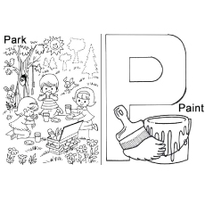 Top 12 Free Printable Letter P Coloring Pages Online