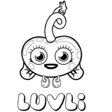 Moshi Monsters Coloring Page - Free Coloring Pages Online | 230x230