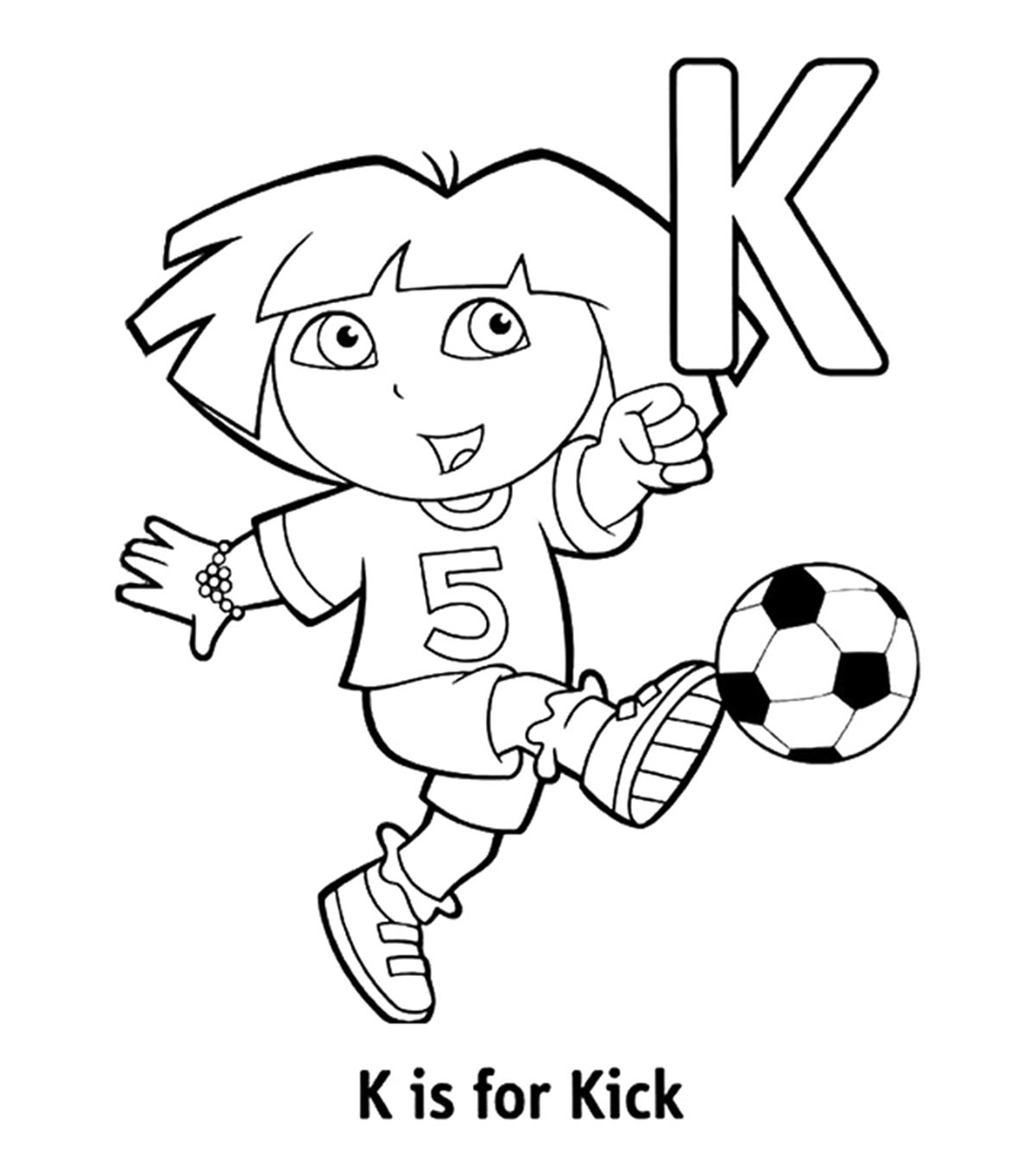Top 10 Letter K Coloring Pages Your Toddler Will Love To