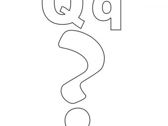 Top 10 Letter 'Q' Coloring Pages Your Toddler Will Love To Learn & Color