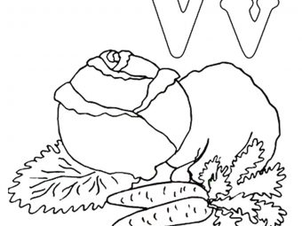 Top 10 Letter 'V' Coloring Pages Your Toddler Will Love To Learn & Color