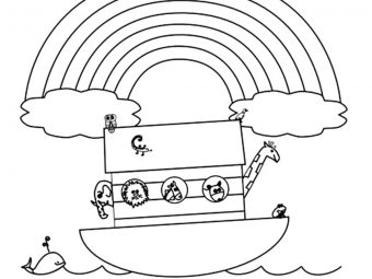 Top 10 'Noah And The Ark' Coloring Pages Your Toddler Will Love To Color