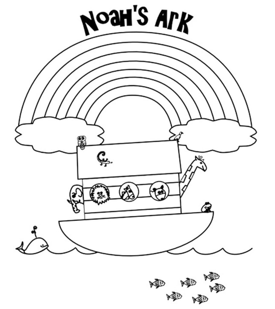 Top 10 \'Noah And The Ark\' Coloring Pages Your Toddler Will ...