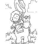 Top 25 Cowboy Coloring Pages For Your Little Ones