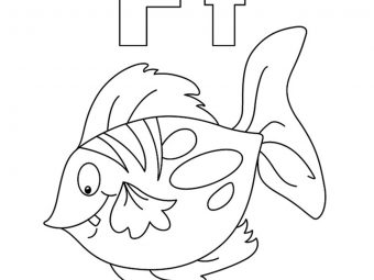 Top 25 Fish Coloring Pages For Your Little Ones