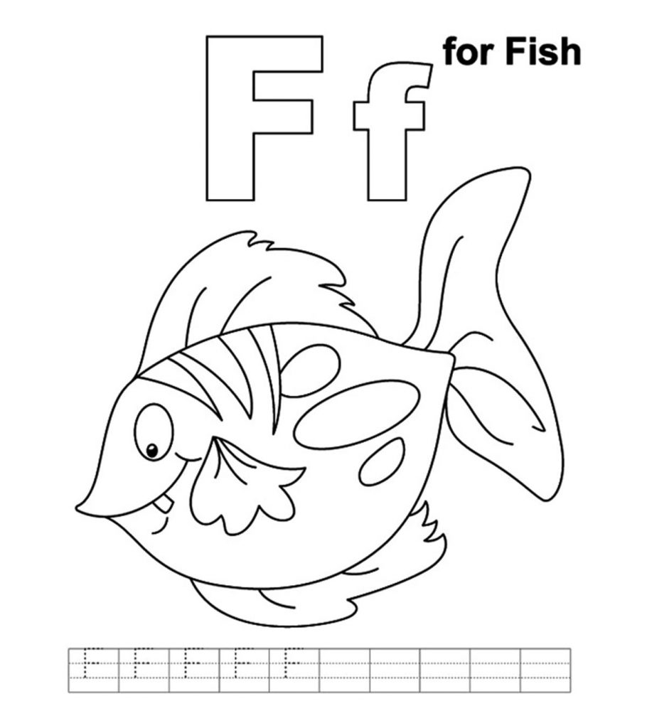 free small fish coloring pages | Top 25 Free Printable Fish Coloring Pages Online