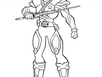 Top 25 Power Rangers Megaforce Coloring Pages For Your Little Ones