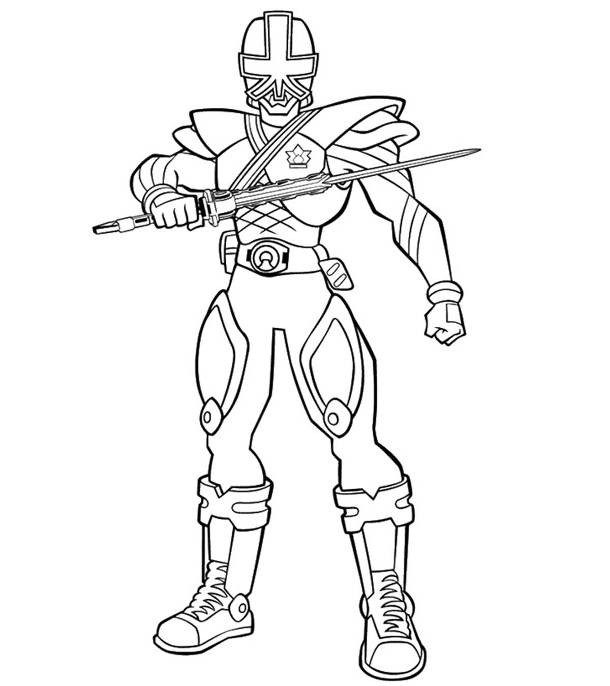Top 25 Free Printable Power Rangers Megaforce Coloring Pages Online