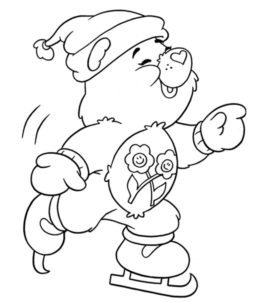Top 10 Free Printable Winter Coloring Pages Online
