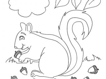 Top 35 Fall Coloring Pages Your Toddler Will Love To Color