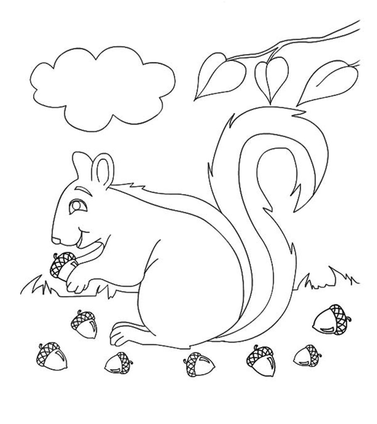 Top 35 Free Printable Fall Coloring Pages Online