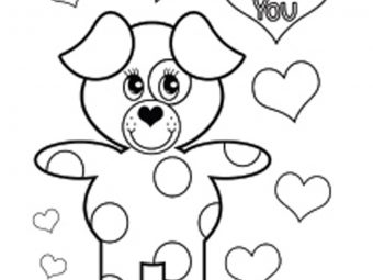 Top 44 Valentine's Day Coloring Pages For Your Little Ones