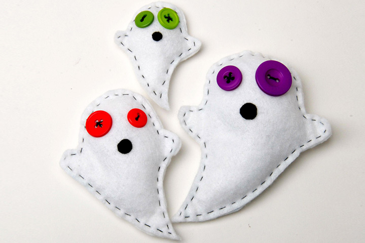 Halloween Crafts For Toddlers - Toy Ghost