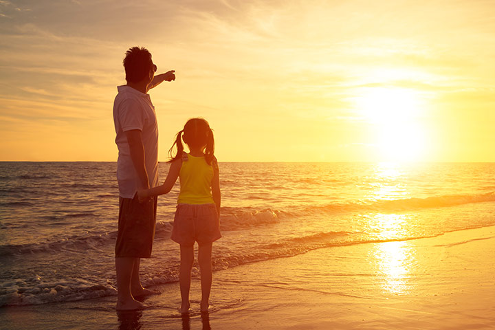 Fun Activities For Kids - Watch The Sun Rise And The Sun Set