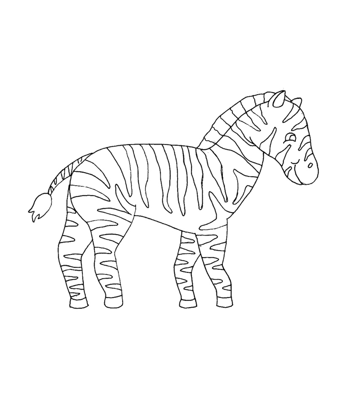 Top 4 Free Printable Zebra Coloring Pages Online