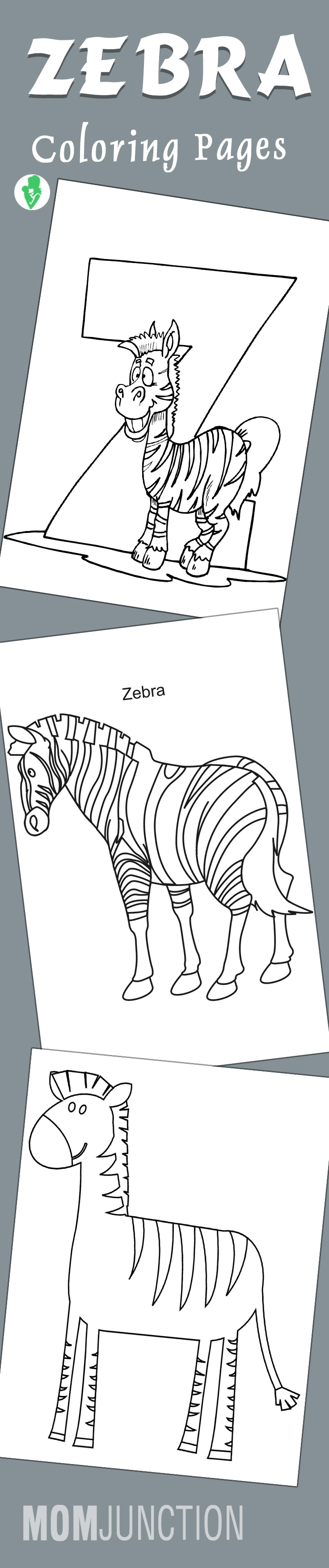 Coloring pages zebra - Coloring Pages Zebra 57