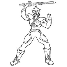 power ranger megazord coloring pages - Blue Power Rangers Coloring Pages