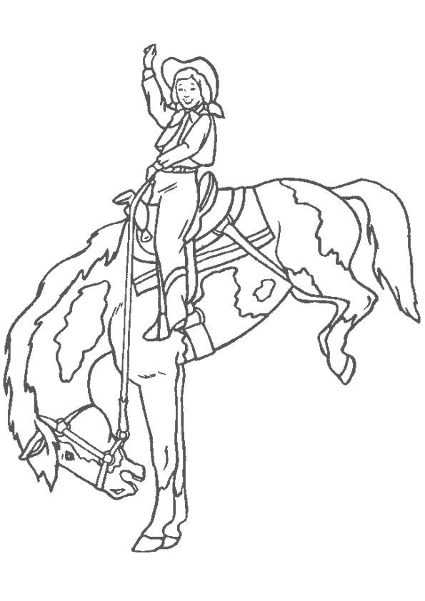 coloriage_cowboy
