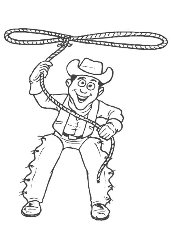 cowboy-malvorlagen