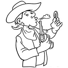 cowboy campfirecoloring pager cowboy_wjbw