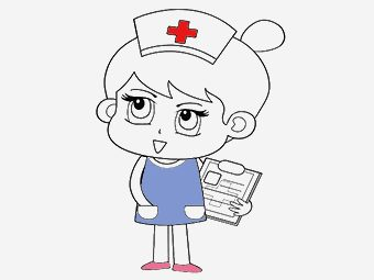 Top 25 Nurse Coloring Pages For Your Little Ones