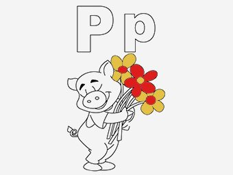 Top 10 Letter 'P' Coloring Pages Your Toddler Will Love To Learn & Color