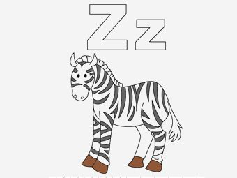 Top 10 Letter 'Z' Coloring Pages Your Toddler Will Love To Learn & Color