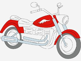 10 Best Motorcycle Coloring Pages Your Toddler Will Love To Color