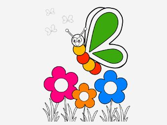 35 Beautiful Flowers Coloring Pages Your Toddler Will Love To Color
