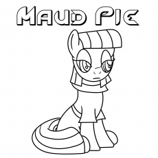 Maud Pie coloring images