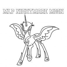 mlp nightmare moon